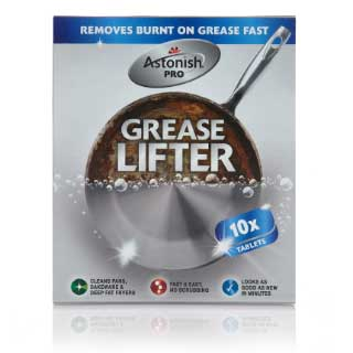 Astonish Grease Lifter, 10 tablettia