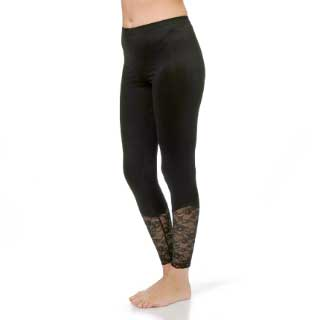 Select Woman Leggingsit Vanessa, mustat