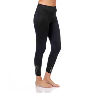Select Woman Leggingsit Paula, mustat